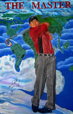 Tiger Woods Original by Prince Whiting III