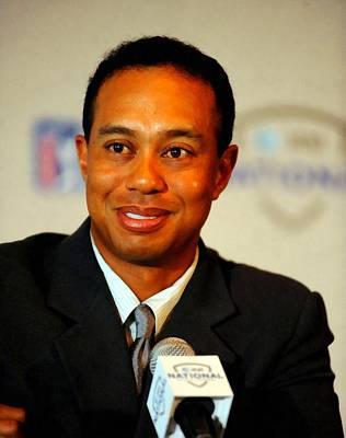 Digital Art - Tiger Woods by Tim Hipps