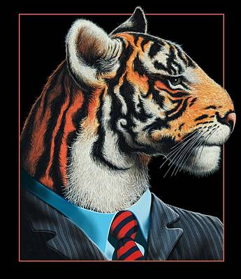 Tigerman Art Print