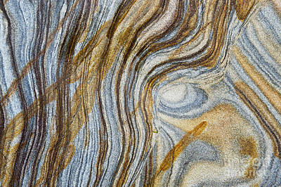 Mineral Photograph - Tigers Eye by Tim Gainey