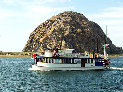 Tigers Folly Morro Bay Art Print