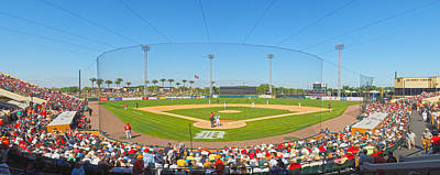 Photograph - Tigers Grapefruit League by C H Apperson