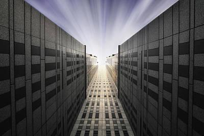 Shinjuku Photograph - Tighten Walls by Dr. Akira Takaue