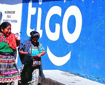 Photograph - Tigo Mujeres by Robert  Rodvik