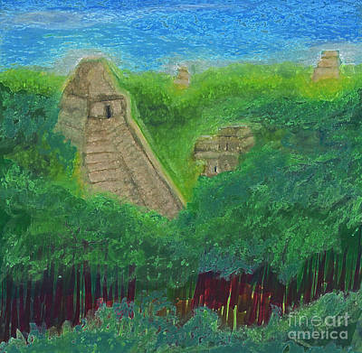 Tikal 2 By Jrr Art Print by First Star Art