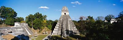 Tikal Photograph - Tikal, Guatemala, Central America by Panoramic Images