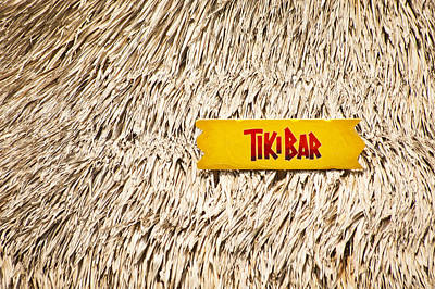 Photograph - Tiki Bar by Carolyn Marshall