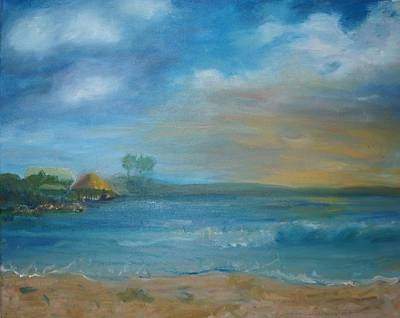 Painting - Tiki Hut by Kristine Bogdanovich