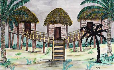 Painting - Tiki Island by Megan Dirsa-DuBois