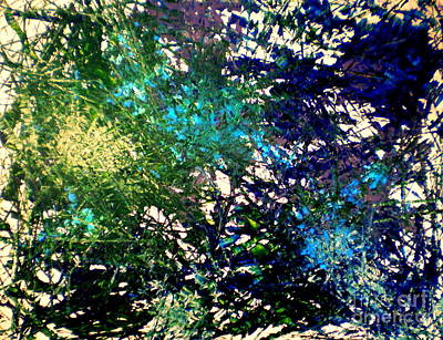 Multi Colored Painting - Tiki Ocean by DM Kent