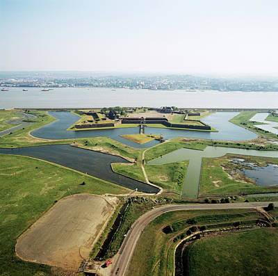 Tilbury Fort Art Print by Skyscan/science Photo Library