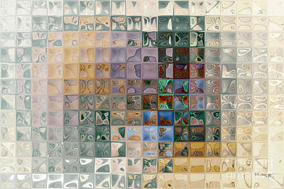 Marklawrencegallery.com Painting - Tile Art 7 2012 by Mark Lawrence