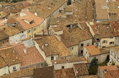 Tiled Roofs Art Print