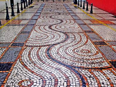 Photograph - Tiled Street I by Ethna Gillespie