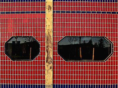 Photograph - Tiled Tableau by Ben Freeman