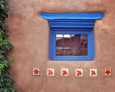 Tiles Below Window Art Print by Nikolyn McDonald