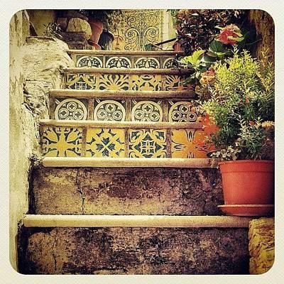 Colorful Photograph - Tiles by Emanuela Carratoni