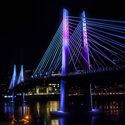 Photograph - Tilikum Crossing On December 6 by John Magnet Bell