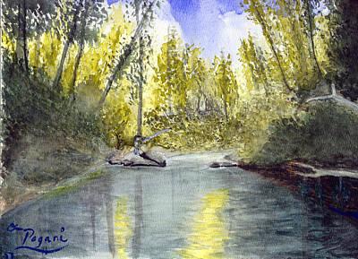 Tillamook Fishing Art Print