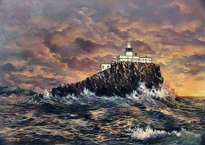 Painting - Tillamook Rock Light by Lynne Wright