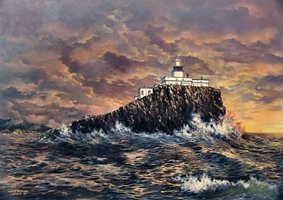 Painting - Tillamook Rock Light by Lynne Wright