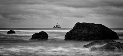 Photograph - Tillamook Rock Lighthouse by Brian Bonham