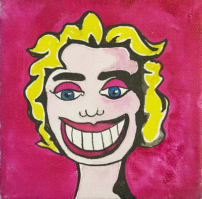 Asbury Park Painting - Tillie As Marilyn by Patricia Arroyo