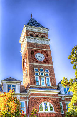 Tillman Clock Tower Art Print