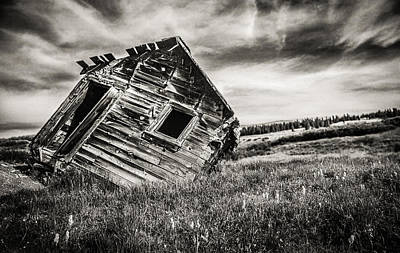 Old Cabins Photograph - Quartz Mountain 7 by Yo Pedro