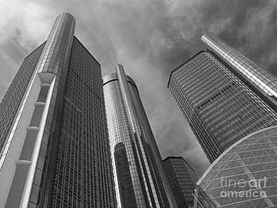 Tilting Towers Print by Ann Horn