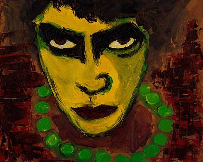 Tim Curry Painting - Tim Curry by William Haley