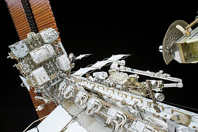 Spacesuit Photograph - Tim Kopra's Spacewalk by Nasa