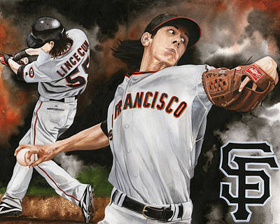 Tim Lincecum Original by Joshua Jacobs