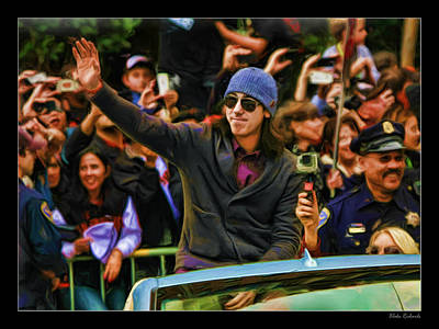 Photograph - Tim Lincecum World Series 2012 by Blake Richards