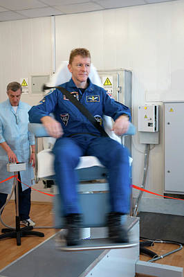 First Launch Photograph - Tim Peake by Nasa