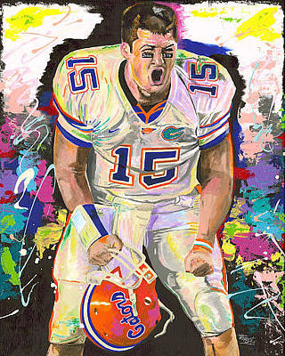 Tim Tebow Original by Jeff Gomez