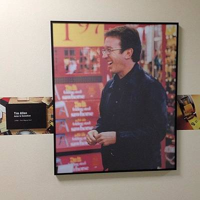 Celebs Photograph - #timallen #tooltime #oughoughough by Keenan Zimmerman