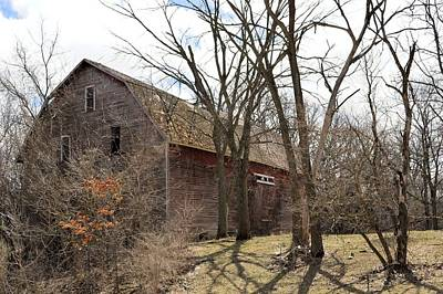 Photograph - Timber Barn by Bonfire Photography