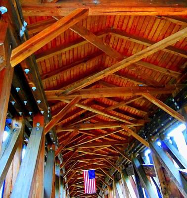 Photograph - Timber Bridge 1 by Ron Kandt