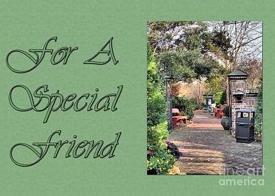 Digital Art - Timberlake Path Special Friend by JH Designs