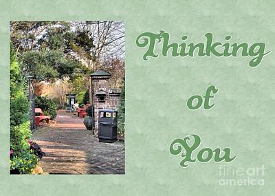 Digital Art - Timberlake Path Thinking Of You by JH Designs