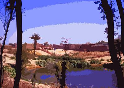 Sahara Mixed Media - Timbuktu by Anthony Dalton
