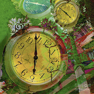 Photograph - Time 2 by Claudia Ellis