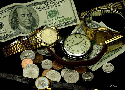 Photograph - Time And Money by James C Thomas