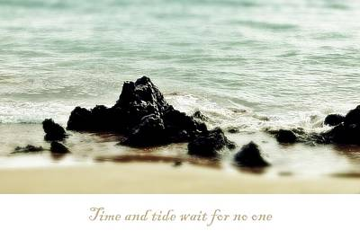 Photograph - Time And Tide by Patricia Strand