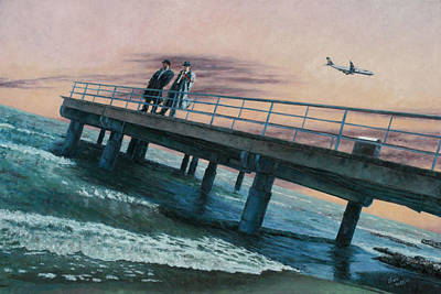 Larnaca Painting - Time And Tide by Theo Michael