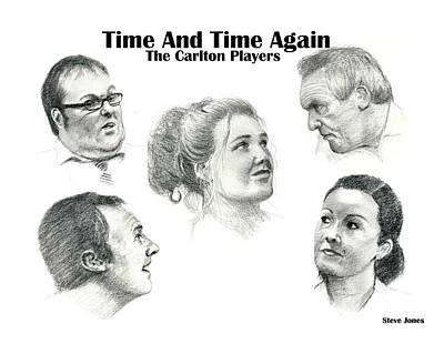Drawing - Time And Time Again by Steve Jones