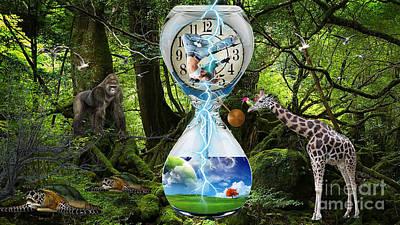 Time Continuum Art Print