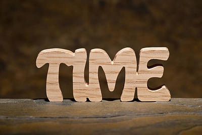 Positive Attitude Photograph - Time by Donald  Erickson