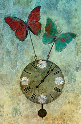 Time Flies Print by Aimelle